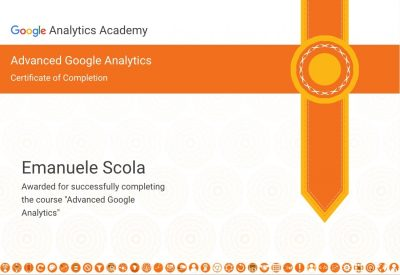Certificazione Advanced Google Analytics